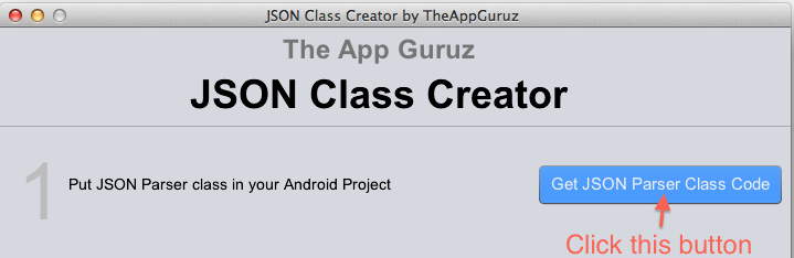 Json Class Creator