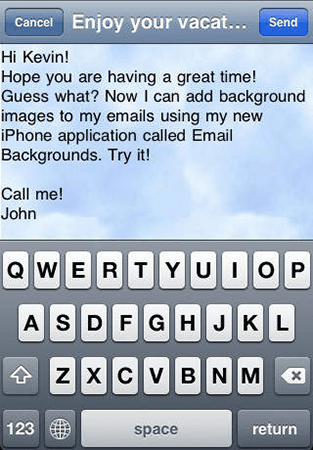 emails backgrounds