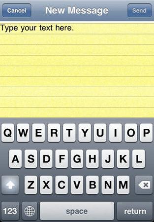 Email Backgrounds iOS App by The App Guruz