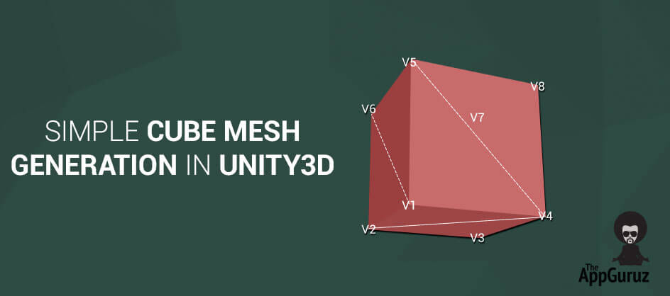 Simple Cube Mesh Generation in Unity3D
