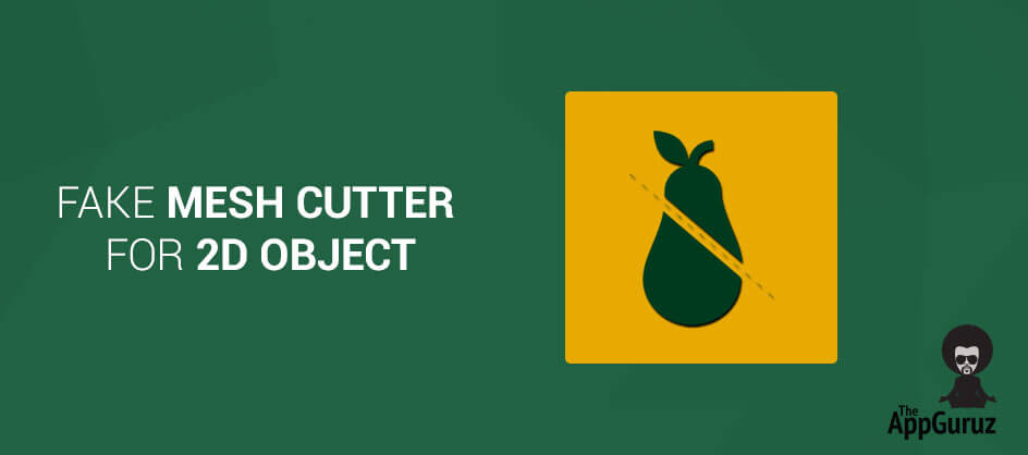 Unity - Fake Mesh Cutter For 2D Object Tutorial