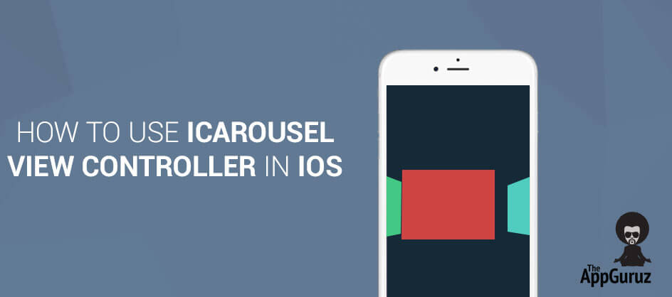 How to Use iCarousel view controller in iOS
