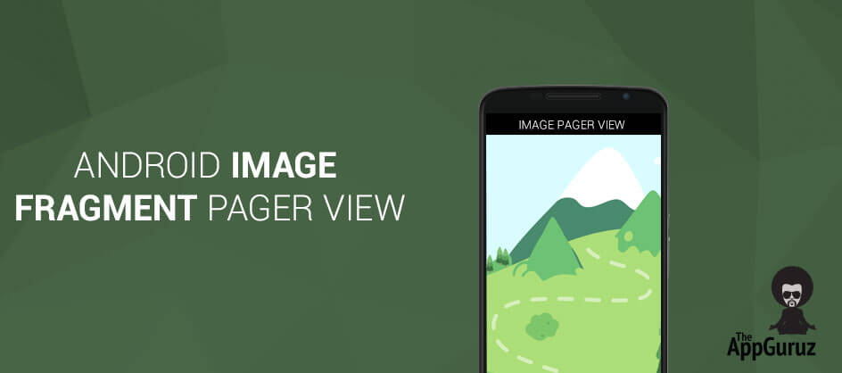 Android - Image Fragment Pager View