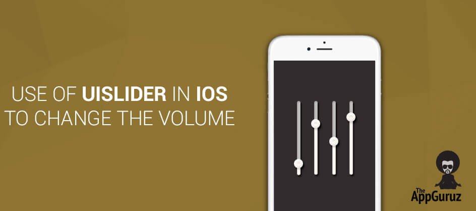 Use of UISlider in iOS to Change The Volume