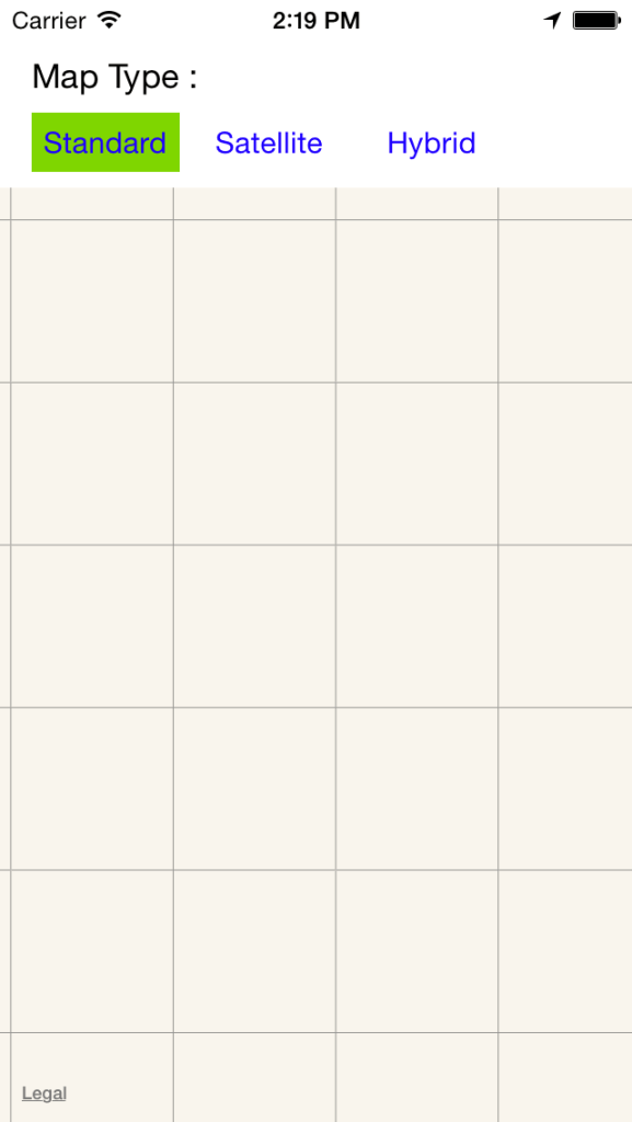 map type standard