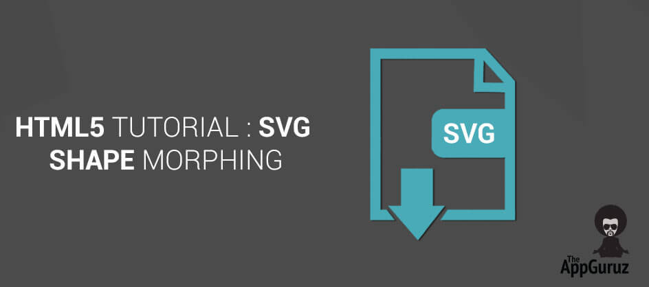 SVG Shape Morphing HTML5 Tutorial