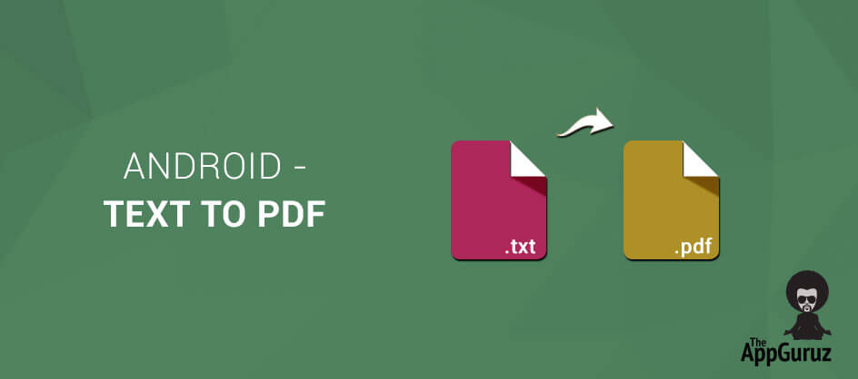 Android - Text to PDF