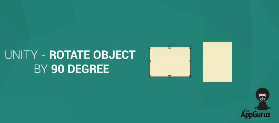 Unity - Rotate object by 90 degree