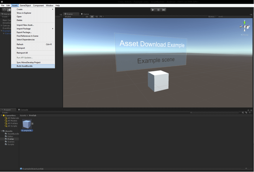 Unity Load Asset At Runtime