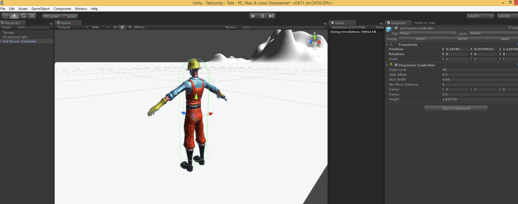 Character Rotation and Movement According to Surface In Unity eg