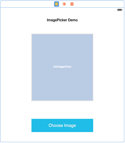 Interaction with Camera using UIImagePickerController Swift demo