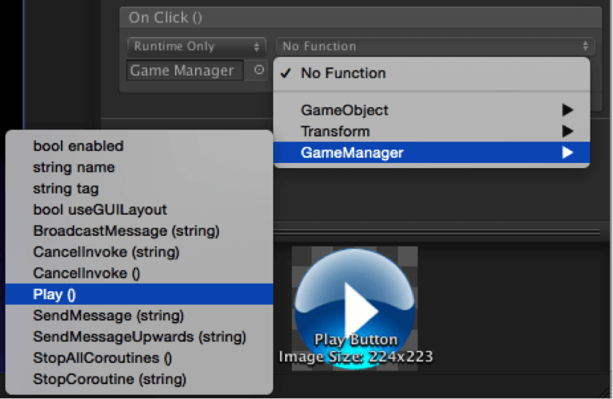 Event System in New UI Elements of Unity 4 6