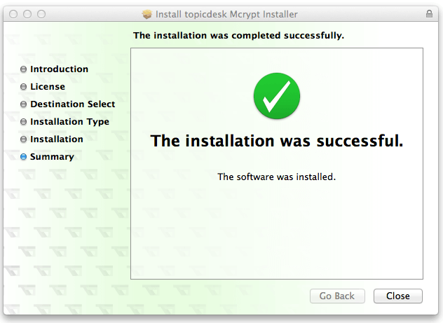 installation-was-successful