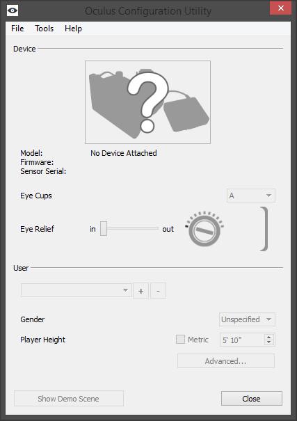 oculus-configuration-utility