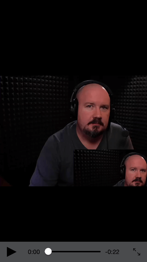Overlap videos