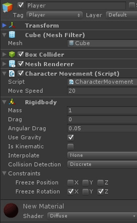 Enemy Follow Script (AI) in Unity