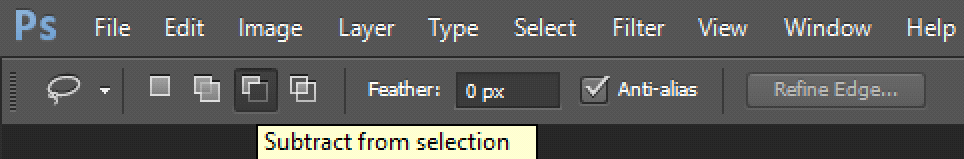 subtract-from-selection-modes