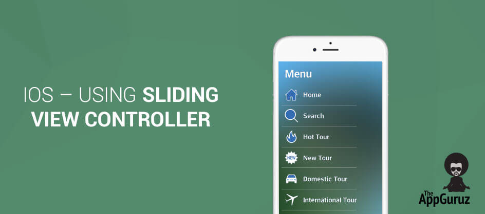 How Sliding View Controller works in iOS