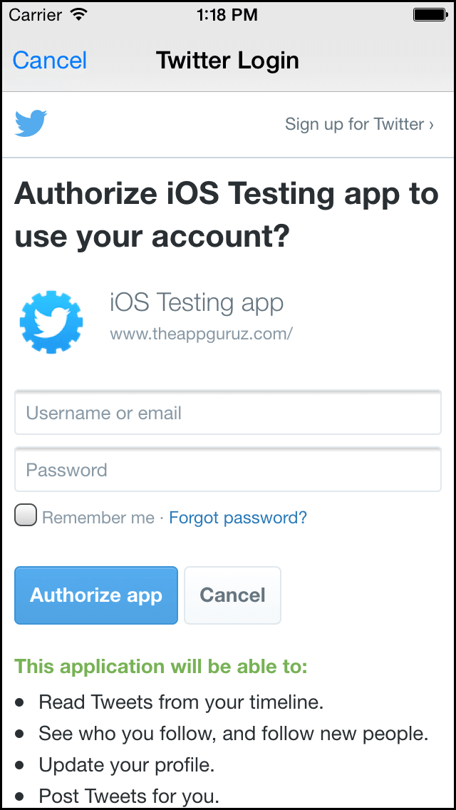 authorize-ios-testing-app-to-use-your-account