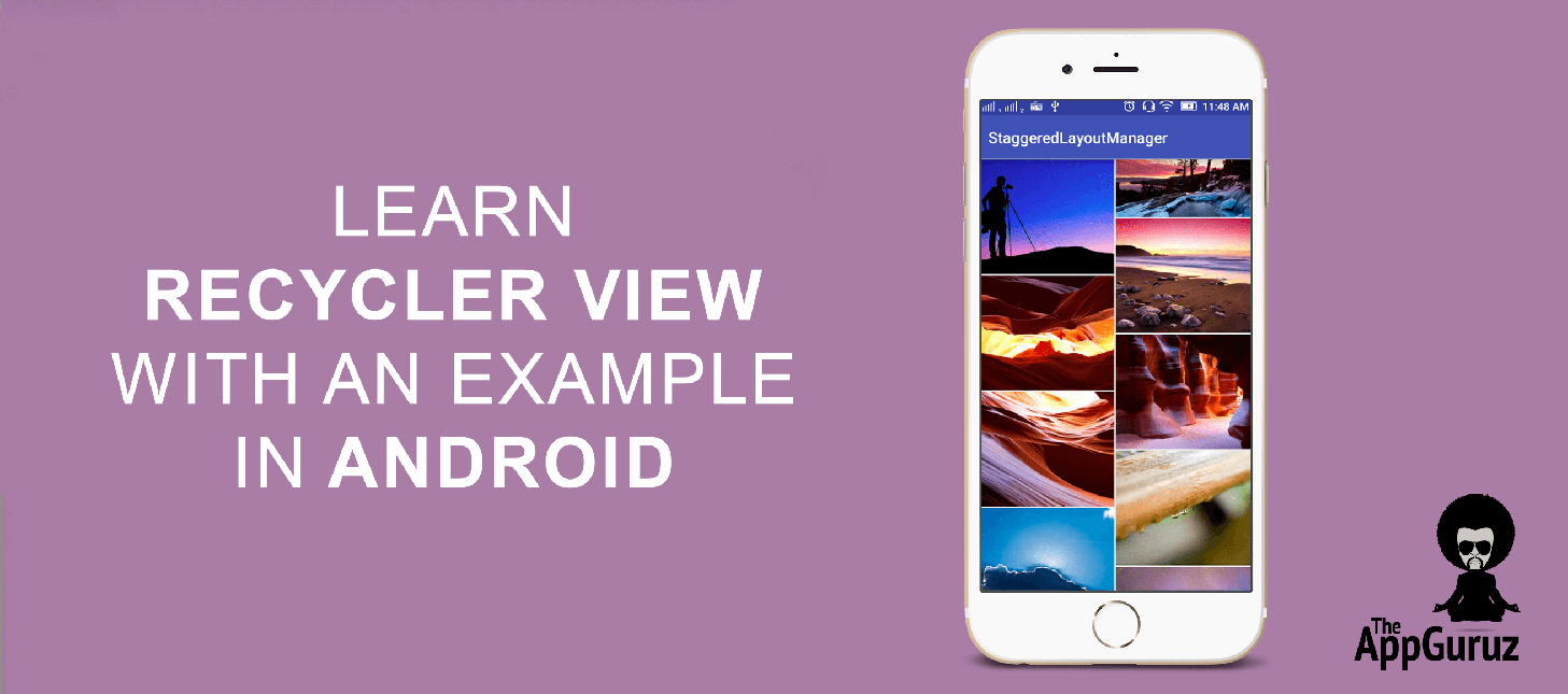 Learn RecyclerView With an Example in Android