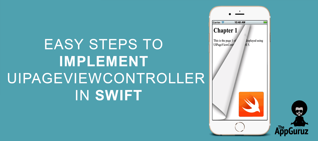 Easy Steps To Implement UIPageViewController In Swift