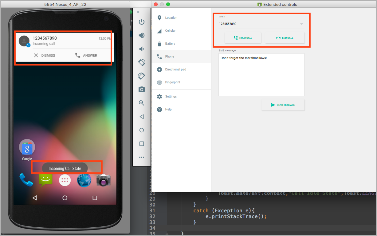 Detecting Incoming Phone Calls In Android