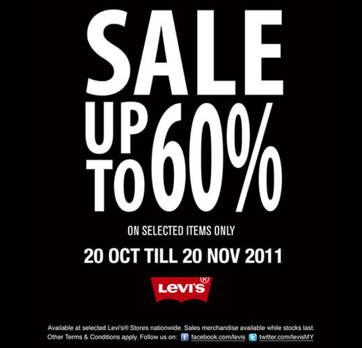 Levi's year end sale