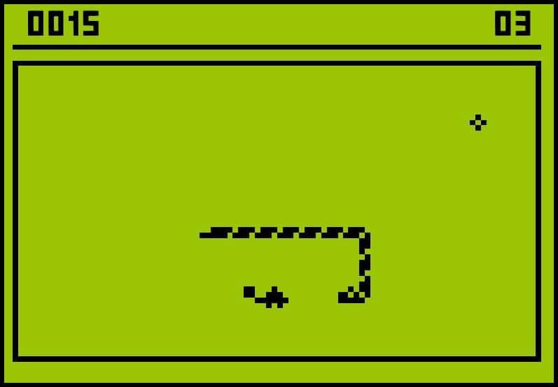 nokia classic snake game
