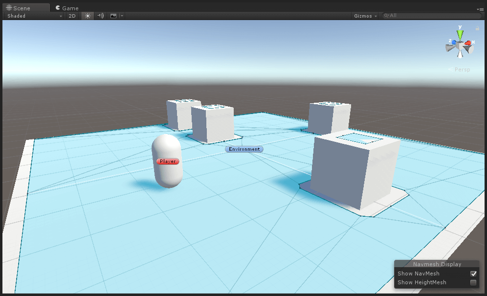 Basic Environment with NavMesh