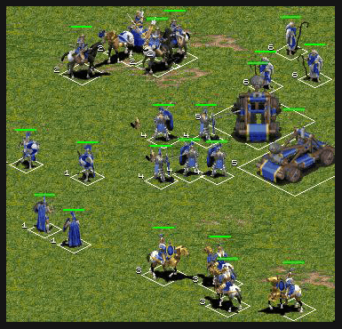 Health Bars Age of Empires