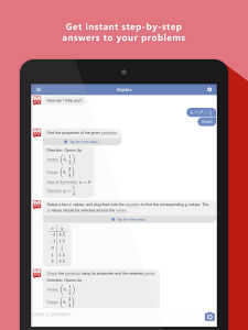 best maths problem solving iphone app
