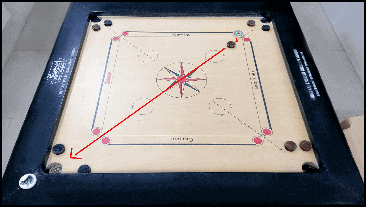 Real carrom board 1