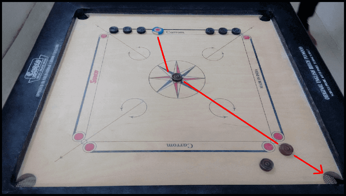 Real carrom board 2