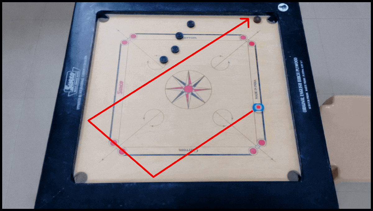 Real carrom board 3