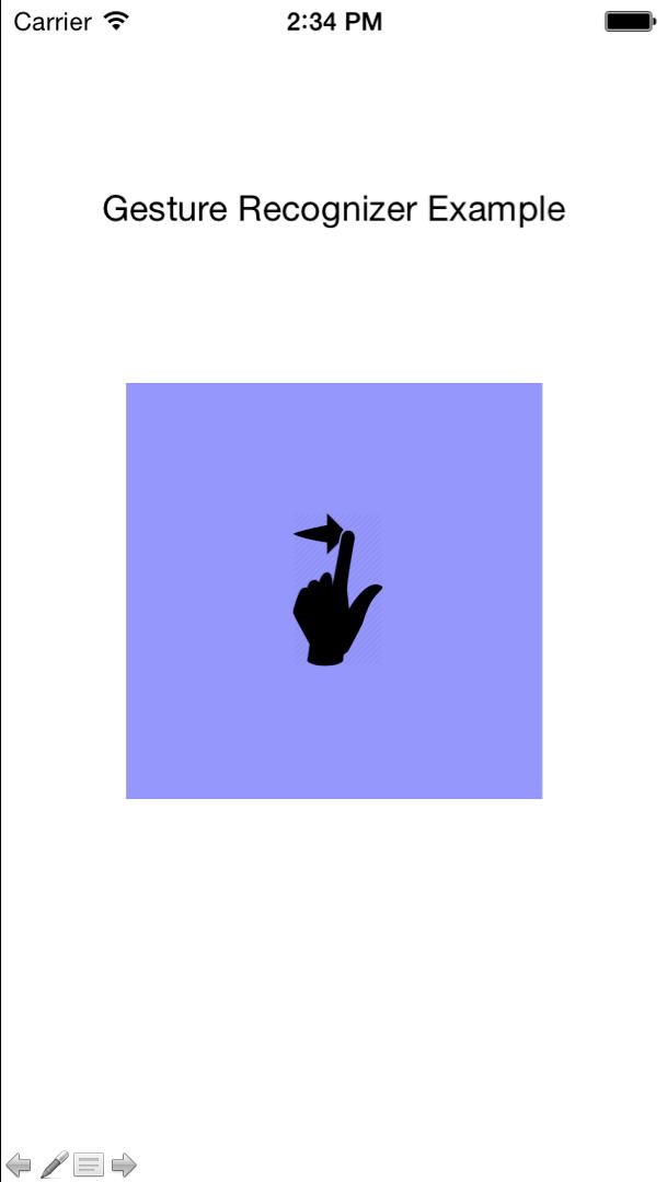 ui swipe gesture recognizer