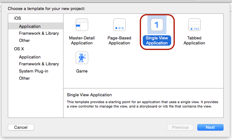 single-view-application