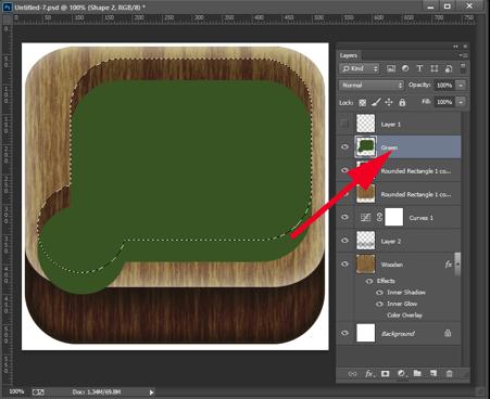cutting-the-green-shape