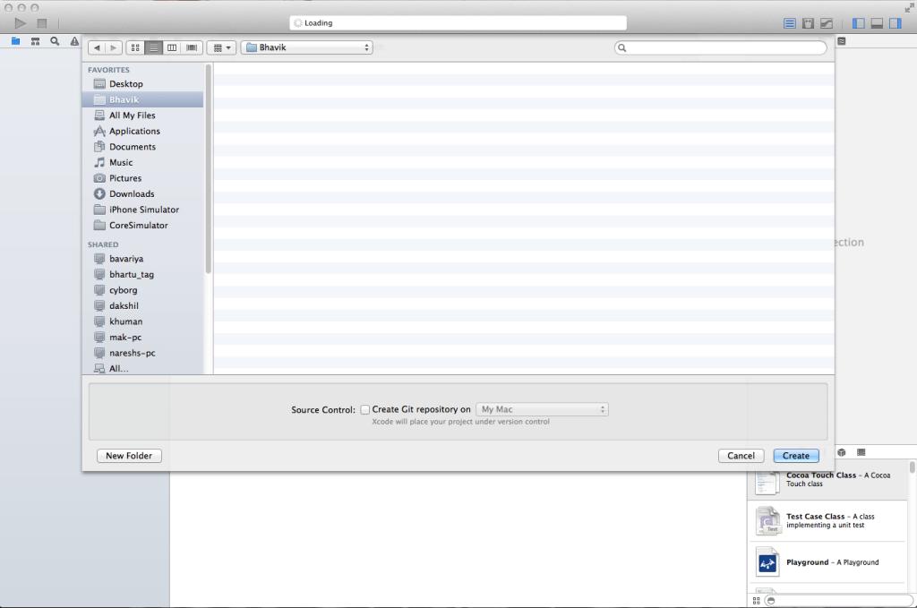 directory dialog box