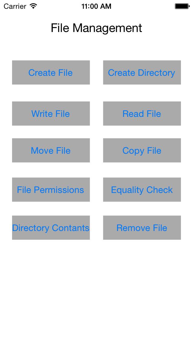 ios simulator screen shot file management