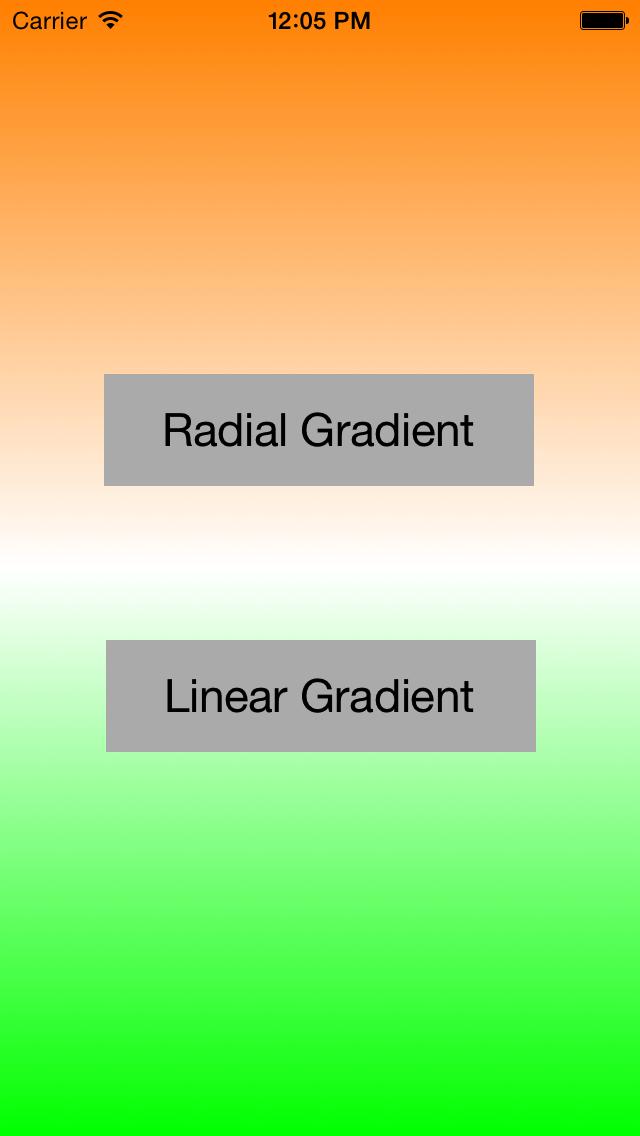 linear gradient