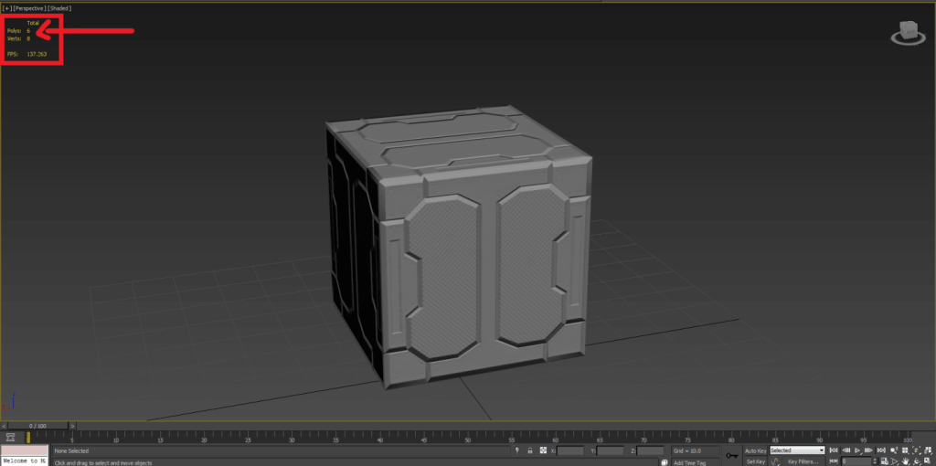 low-poly-model-normal-map-applied