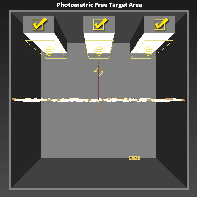 photometric-free-target-area