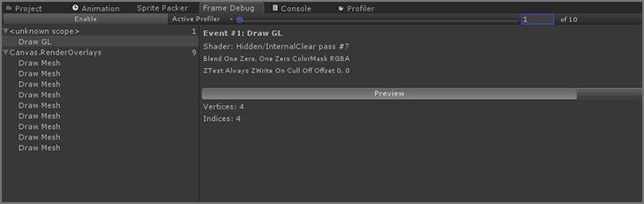 frame-debug