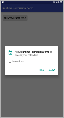 Permission Request