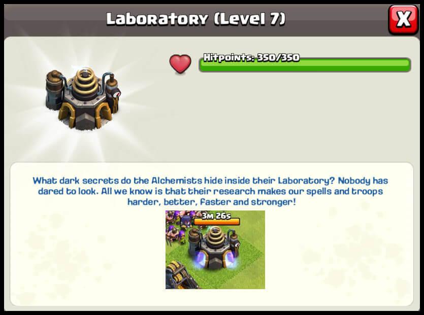 clash of clans building