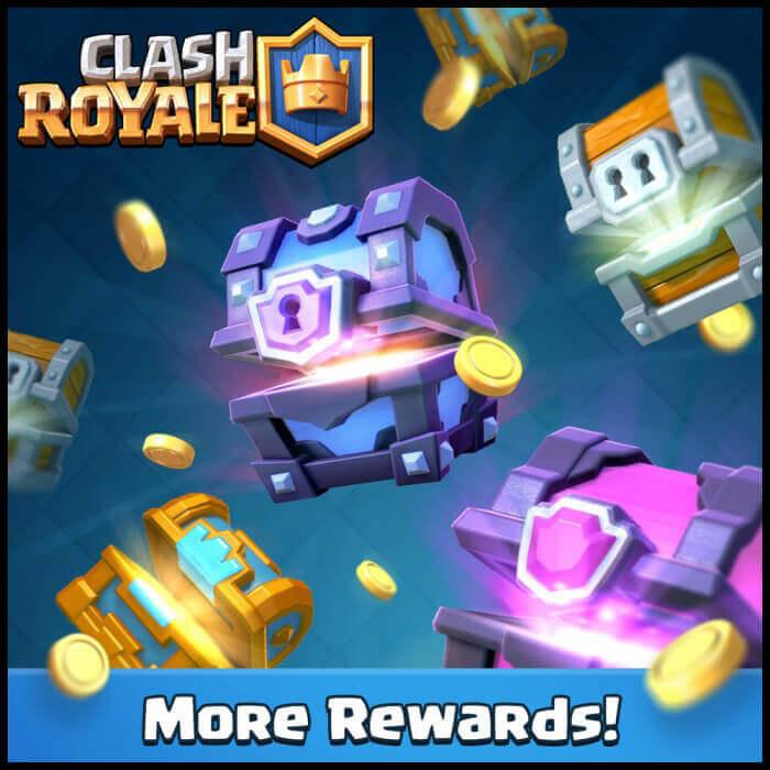 clash royale more rewards
