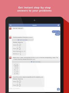 best maths problem solving iphone app