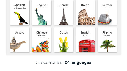 best mobiles app to learn different language