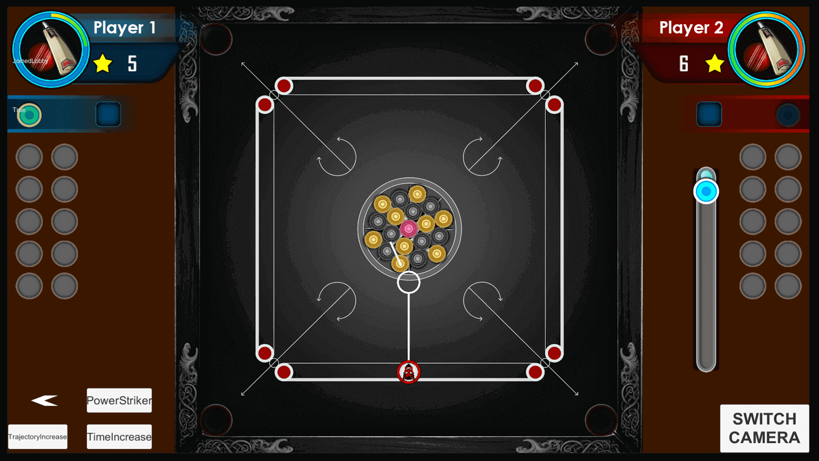 Carrom Mobile Game view 1