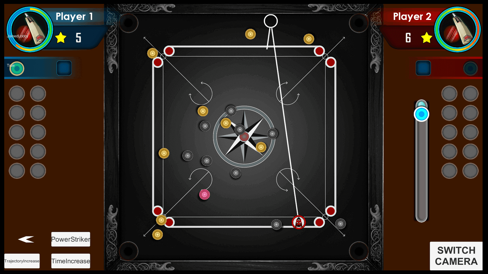 Carrom Mobile Game view 2